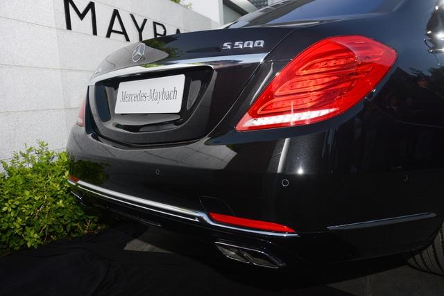 Cặp đôi Mercedes-Maybach S400 4Matic và S500 ra mắt khách hàng Việt, giá từ 6,9 tỷ Đồng - Ảnh 7.