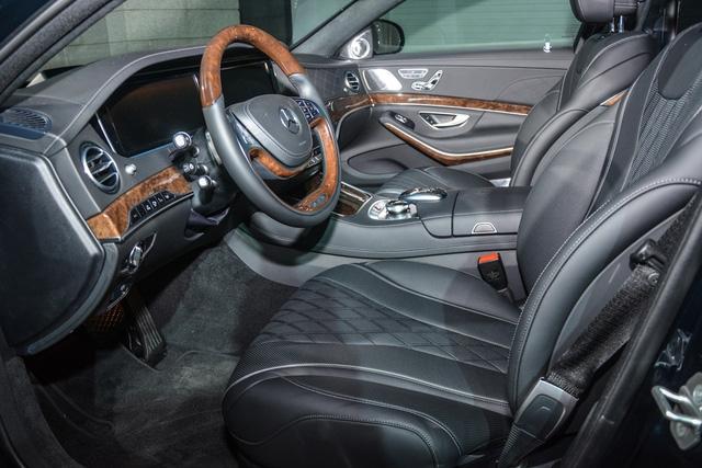 Cặp đôi Mercedes-Maybach S400 4Matic và S500 ra mắt khách hàng Việt, giá từ 6,9 tỷ Đồng - Ảnh 10.