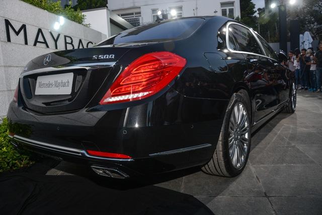 Cặp đôi Mercedes-Maybach S400 4Matic và S500 ra mắt khách hàng Việt, giá từ 6,9 tỷ Đồng - Ảnh 14.