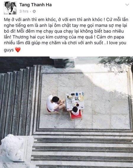 Tang Thanh Ha sinh con thu hai hinh anh 1