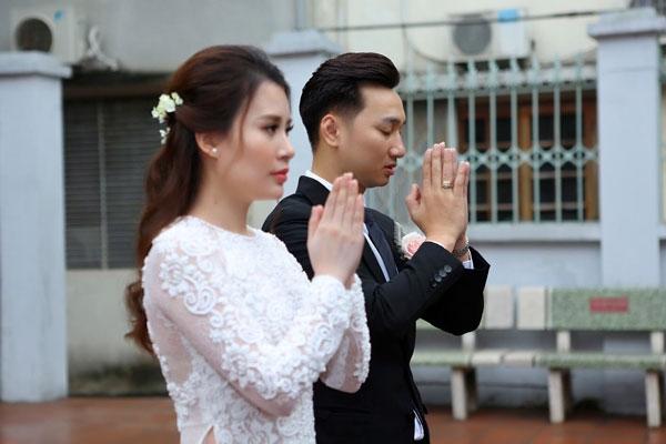 Trước khi kết hôn, Thành Trung và Ngọc Hương đã có 3 năm gắn bó.