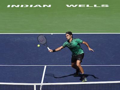 Federer gặp đàn em Wawrinka trong trận chung kết Indian Wells