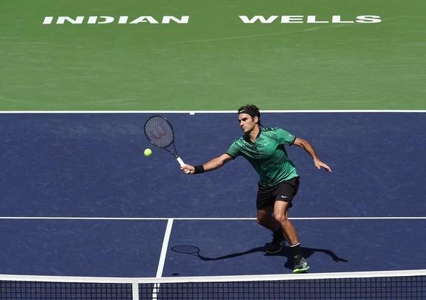Ở tuổi 35 Federer vẫn có phong độ rất tốt /// AFP