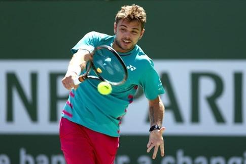 Federer gặp đàn em Wawrinka trong trận chung kết Indian Wells - ảnh 2