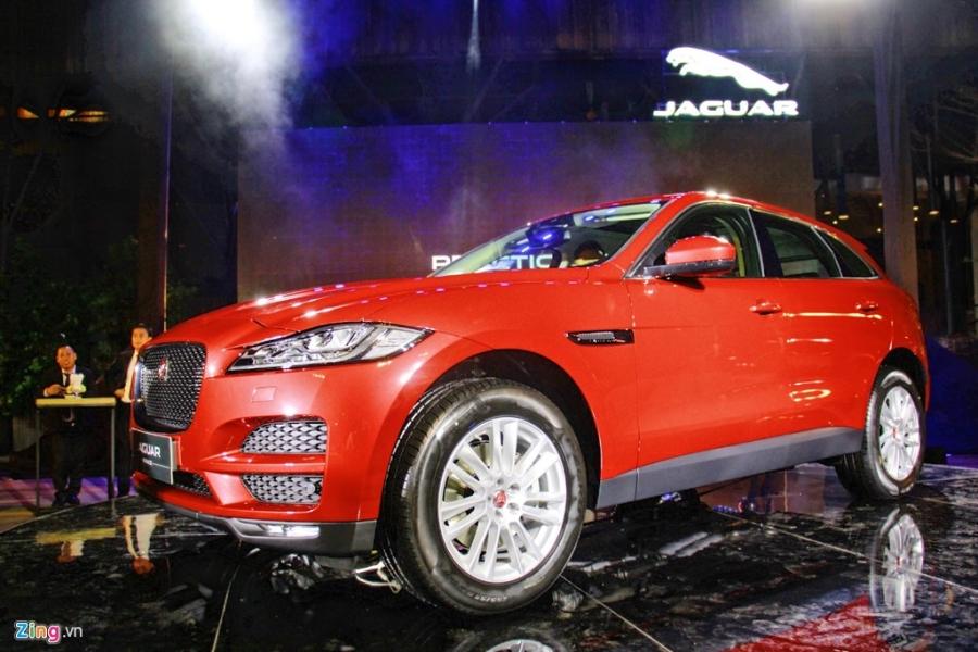 Jaguar F-Pace dau tien ra mat tai Viet Nam hinh anh 2