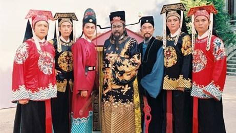 Những nhân vật chính của phim Bao Thanh Thiên.