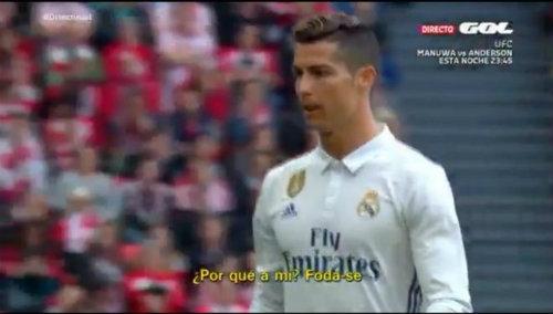 Real: Bị Zidane thay ra, Ronaldo bực tức chửi thề - 1