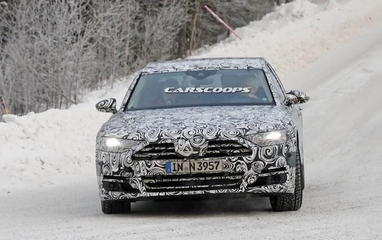 """Chua lo dien, Audi A8 the he moi da """"chot lich"""" ra mat-Hinh-2"""