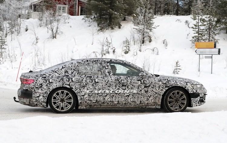 """Chua lo dien, Audi A8 the he moi da """"chot lich"""" ra mat-Hinh-3"""