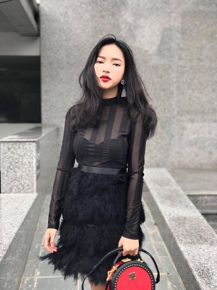 Hot girl Chau Bui: 'Toi thich lam dep va dam me kiem tien' hinh anh 2
