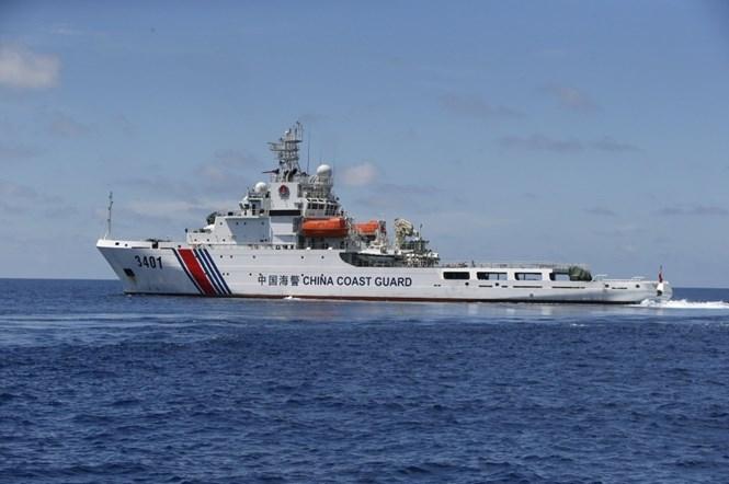 Tàu hải cảnh Trung Quốc hoạt động ở Biển Đông /// Reuters