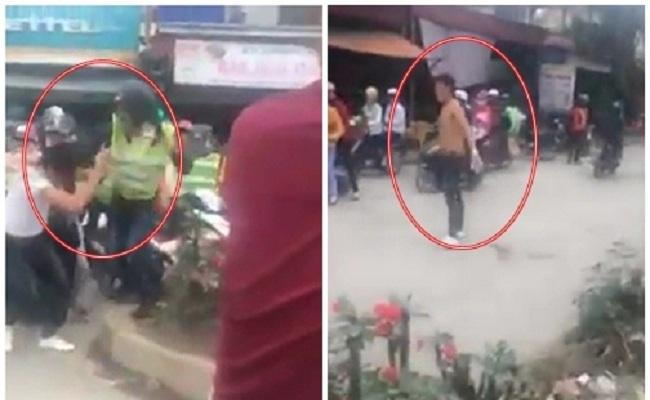 Nhóm phượt thủ nẹt pô, đánh hội đồng 1 thanh niên gây náo loạn giao thông