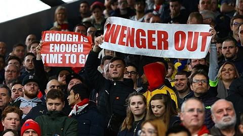 Làn sóng tẩy chay của NHM Arsenal đối với Wenger