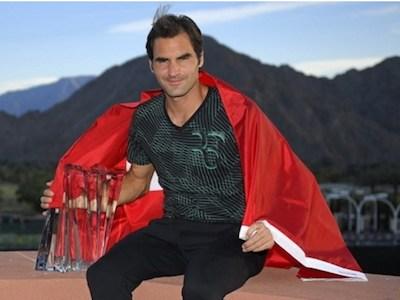 Federer thăng tiến mạnh, vượt mặt Nadal trên bảng xếp hạng ATP
