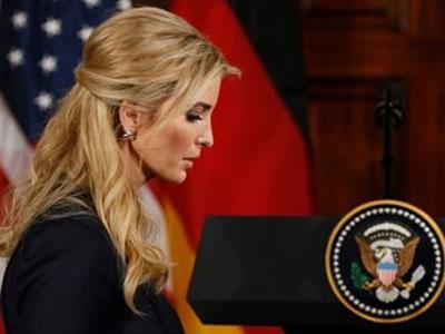 Ivanka Trump có văn phòng tại Nhà Trắng dù không phải nhân viên chính phủ