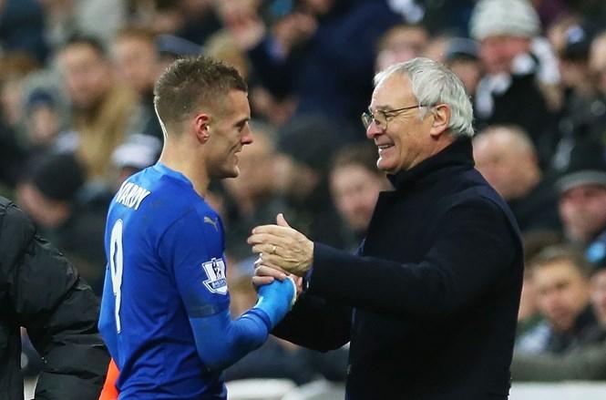 Vardy phủ nhận việc anh có tác động khiến HLV Ranieri phải ra đi /// AFP