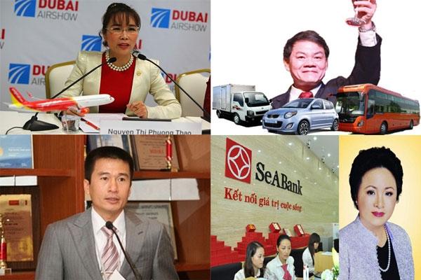 nữ tỷ phú USD, tỷ phú USD, Nguyễn Thị Phương Thảo, VietJet Air, tỷ phú Việt, đại gia Việt, nữ đại gia, Phạm Nhật Vượng, Vingroup