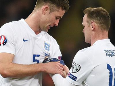 Xác định đội trưởng mới ĐT Anh thay Rooney