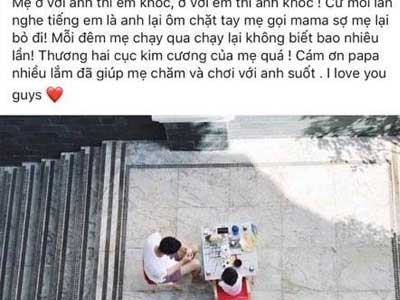 Một tuần sau sinh, Tăng Thanh Hà lần đầu đăng ảnh tiết lộ giới tính em bé