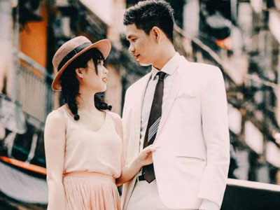 Bộ ảnh cưới ý nghĩa chuyển thể từ bộ phim tình cảm lãng mạn