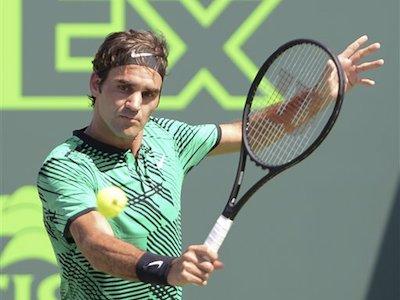 Miami Open: Federer loại Del Potro, Wawrinka thắng nhanh