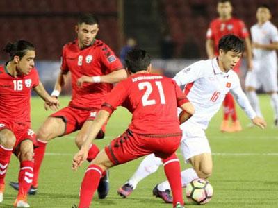 Afghanistan 1-1 ĐTVN: Công Phượng đá phạt, Văn Toàn ghi bàn