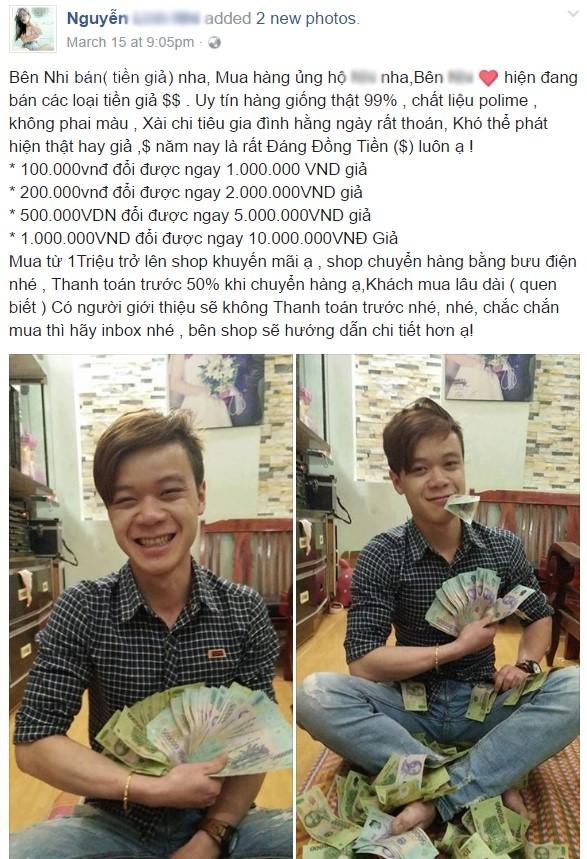 Ban tien gia cong khai tren Facebook hinh anh 2