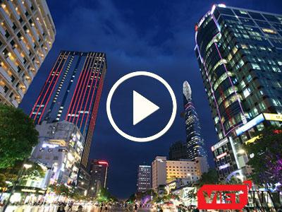 Video: Một loạt đường sẽ cấm xe trong đề án phố đi bộ trung tâm TP HCM