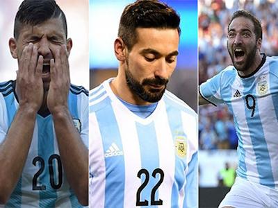 CĐV Argentina muốn loại Higuain, Aguero khỏi đội tuyển