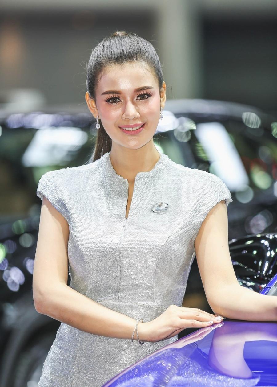 Nguoi dep khoe sac o trien lam Bangkok Motor Show 2017 hinh anh 5
