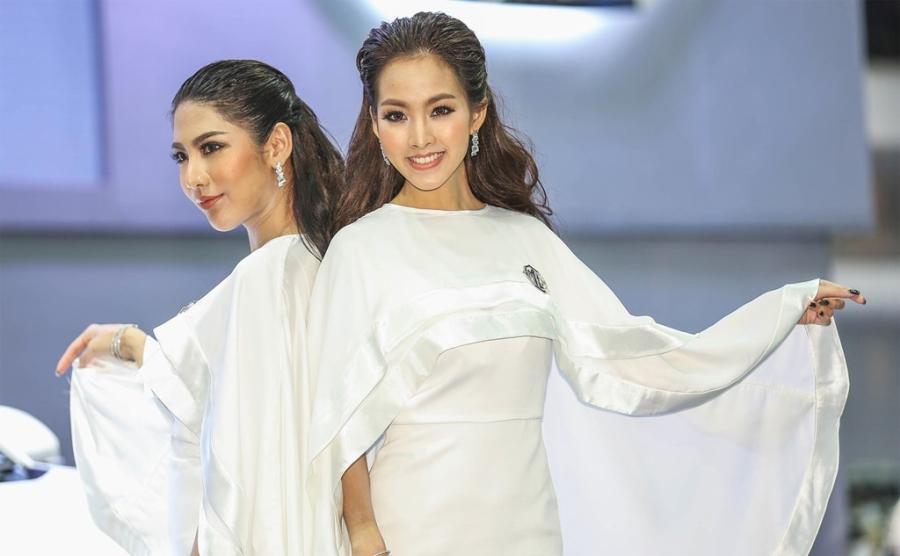 Nguoi dep khoe sac o trien lam Bangkok Motor Show 2017 hinh anh 7