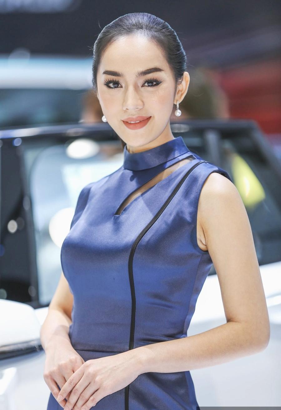 Nguoi dep khoe sac o trien lam Bangkok Motor Show 2017 hinh anh 8