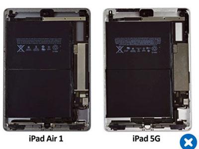 iPad 5G mạnh mẽ, giá rẻ lại dễ sửa chữa