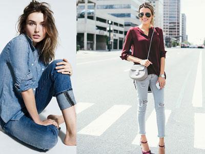 Quần jeans & những điều phụ nữ tuổi 30 nên biết