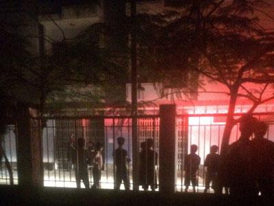 Cháy ký túc xá Nha Trang, 5 sinh viên bị thương