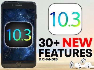 iOS 10.3 vừa ra mắt, Apple đã phát hành iOS 10.3.1 để sửa lỗi và cải thiện bảo mật