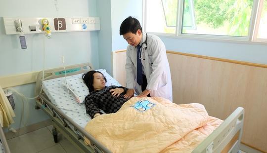 Nữ bệnh nhân may mắn được phát hiện, can thiệp kịp thời.