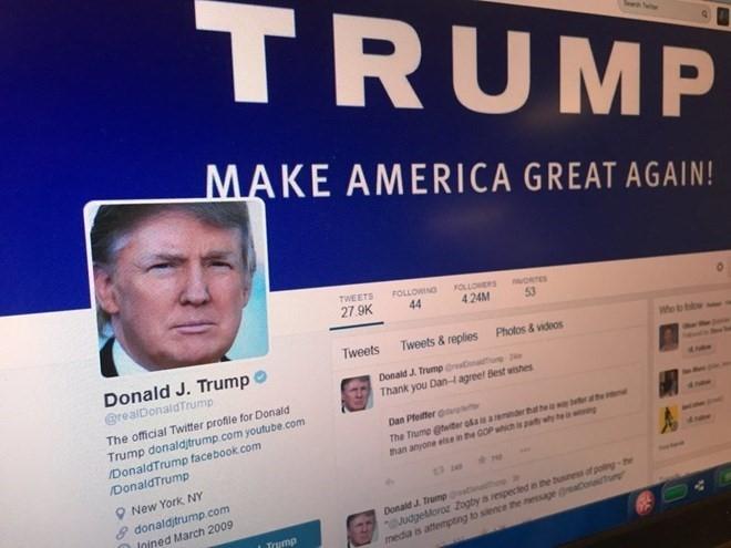 Twitter kien chinh phu My vi chan tai khoan chi trich Donald Trump hinh anh 1