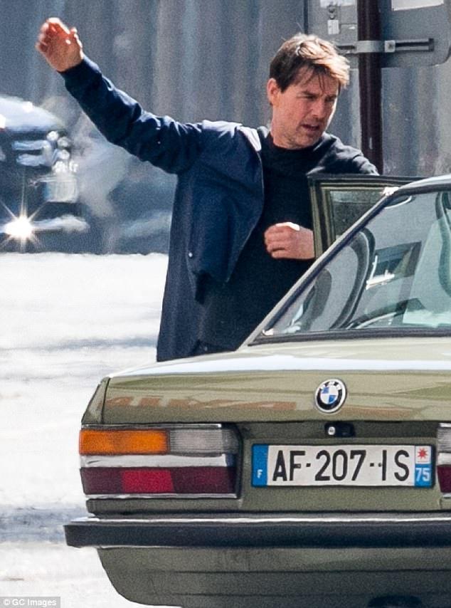"""Khi diễn xuất trong """"Nhiệm vụ bất khả thi"""", Tom Cruise luôn tự mình thực hiện các pha hành động nguy hiểm mà không nhờ tới diễn viên đóng thế."""