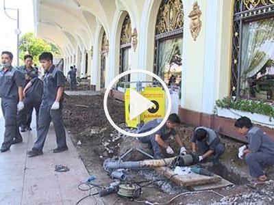 Video: Vỉa hè phố đi bộ Nguyễn Huệ thành