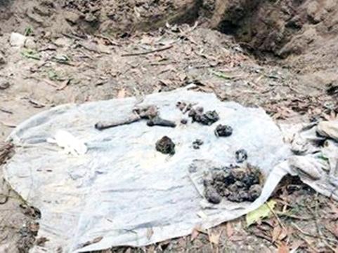 Hố chôn tập thể được phát hiện tại Sân bay Biên Hòa