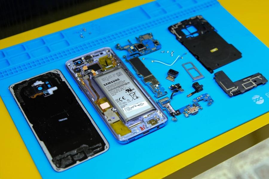 'Mo bung' Samsung Galaxy S8 vua ve Viet Nam hinh anh 12