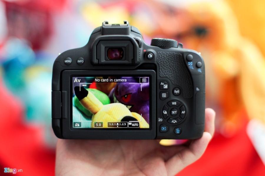 Anh thuc te Canon EOS 800D gia 18 trieu tai VN hinh anh 2