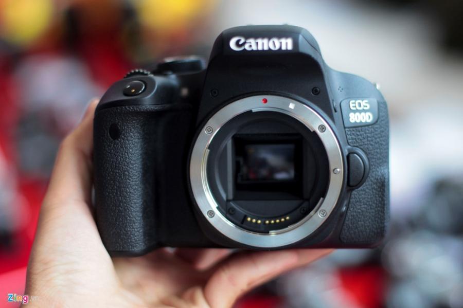 Anh thuc te Canon EOS 800D gia 18 trieu tai VN hinh anh 3