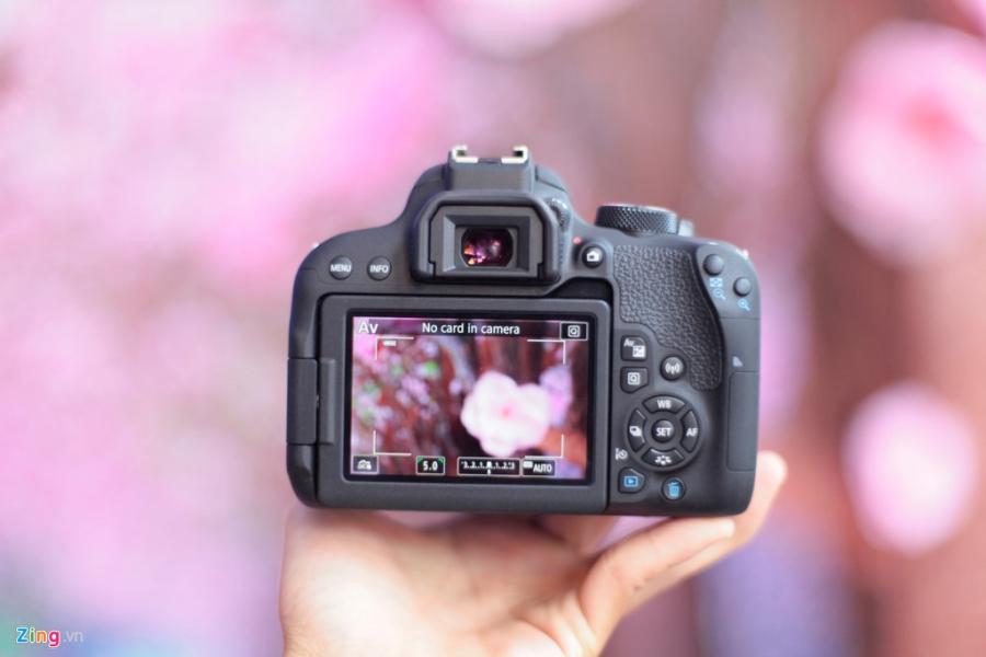 Anh thuc te Canon EOS 800D gia 18 trieu tai VN hinh anh 10