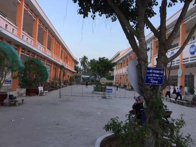 Trường Tiểu học Kim Đồng - một trong 3 ngôi trường do công ty Huỳnh Văn Nô xây dựng.
