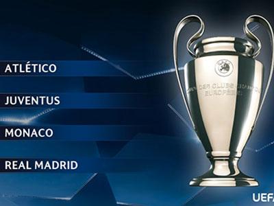 UEFA bốc thăm chia cặp bán kết Champions League chiều thứ Sáu