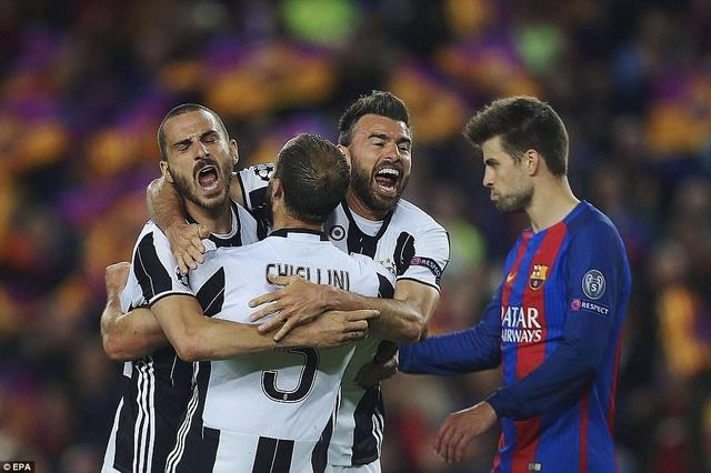 Barcelona trải qua trận dấu tệ hại trước Juventus