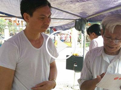 Video: Người dân Đồng Tâm thả cán bộ huyện, xin lỗi chính quyền