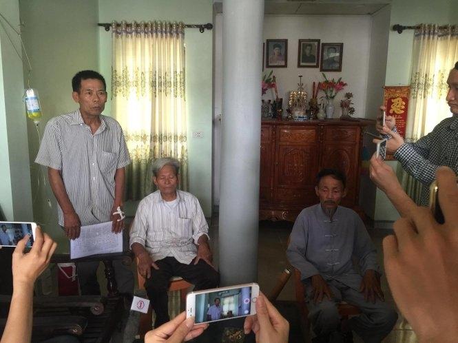 10h sáng: Người dân Đồng Tâm đã thả ông Đặng Văn Cảnh